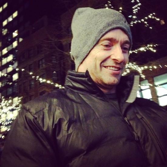 January in New York seeing Hugh Jackman.