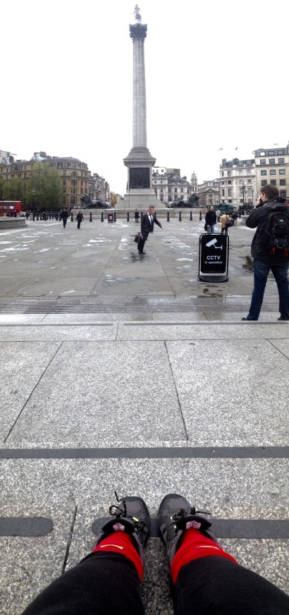 Trafalgar Square. London.