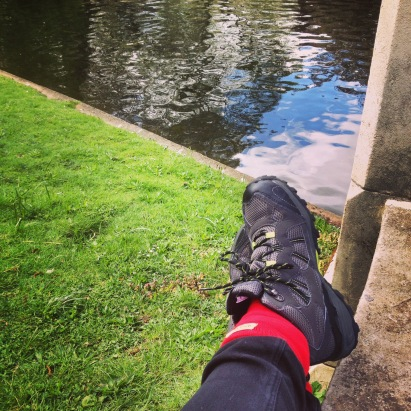 River. Regents Park. Bamboo socks.