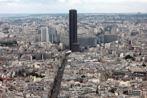 Tour Montparnasse. Tower. Paris.
