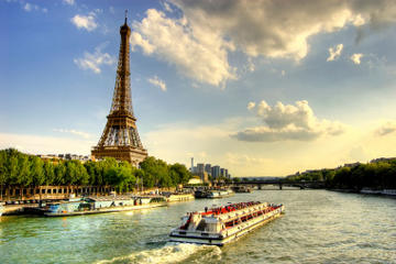 River. Seine. Paris.