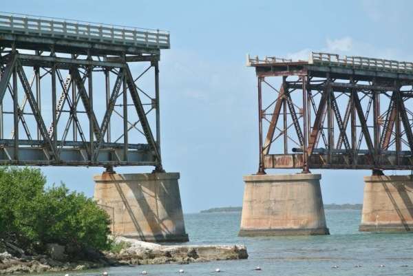 The Bahia Honda Rail Bridge - Florida.