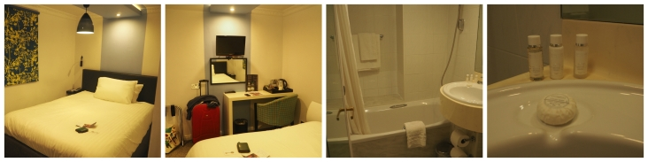 hotel room Collage