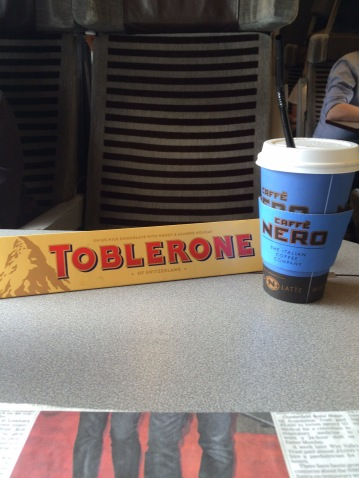 Toblerone, Chocolate, Coffee, Eurostar,