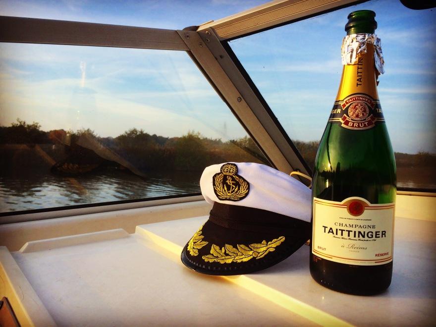 Champagne, Broads, Norfolk, River