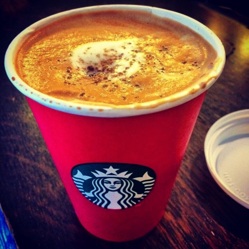 Starbucks, Red Cups, Coffee,