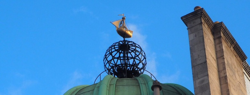Weather Vane on Pall Mall.