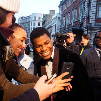 John Boyega, Star Wars, Star Wars The Force Awakens, EE Rising Star