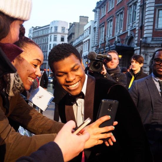 John Boyega, Star Wars, Star Wars The Force Awakens, EE Rising Star