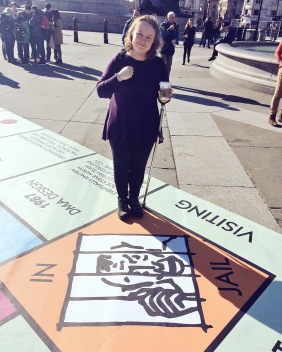 Monopoly Trafalgar Square London Games Festival 2016