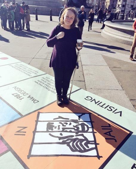 Monopoly Trafalgar Square London Games Festival 2016