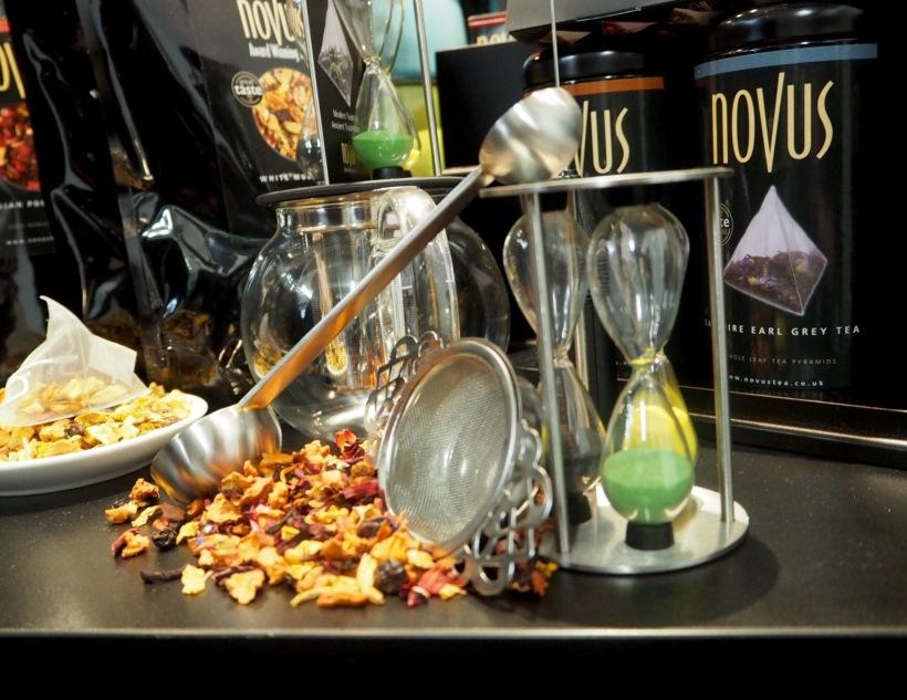 Novus Tea Stand London Coffee Festival 2016