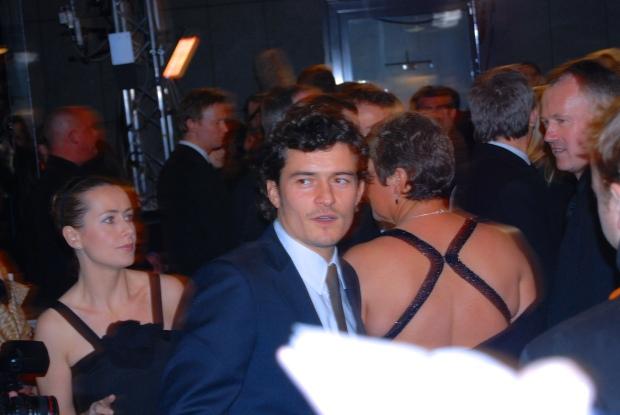 Orlando Bloom BAFTAs 2008