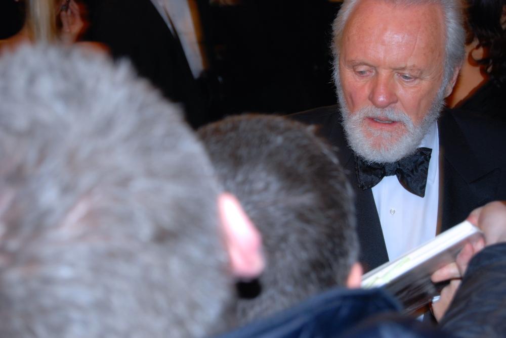 Anthony Hopkins BAFTA 2008
