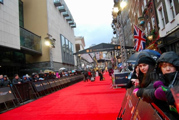 2011 BAFTA Red Carpet